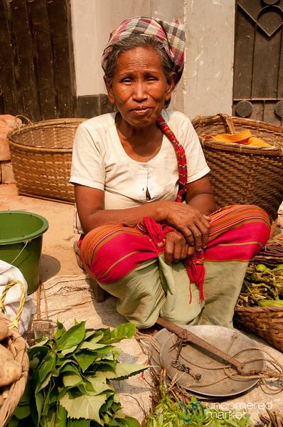 Older Marma Woman as Vendor - Bandarban, Bangladesh