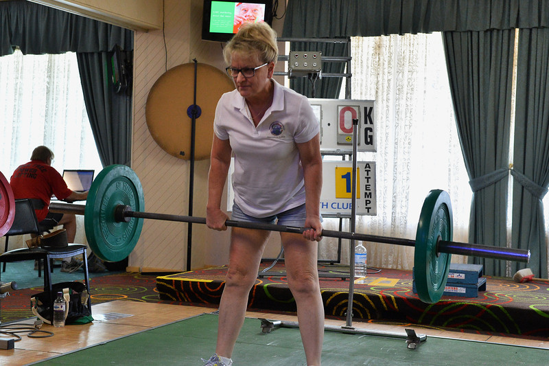 Power Lifting comp at Cobby Club State Titles