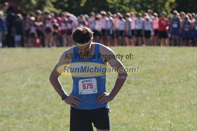 Mens Open 5K Start - 2012 Running Fit–Detroit Titan XC Invite
