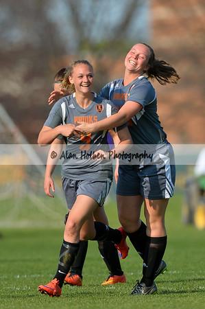 Ladies Varsity Soccer - Leslie at Lansing Catholic