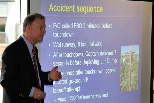 NTSB Visit and Presentation
