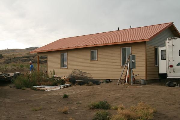 House on McLoughlin Canyon Rd.