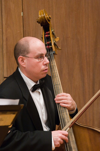 David Freiman, double bass -- Hopkins Symphony Orchestra, March 2008