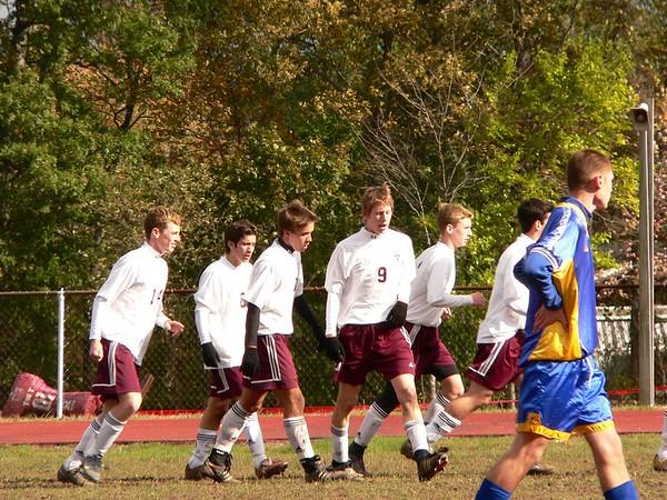 AM Boys Game 1 Sectional vs North Salem