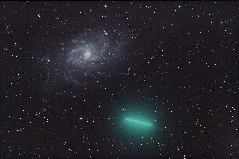 8P/Tuttle + M33
