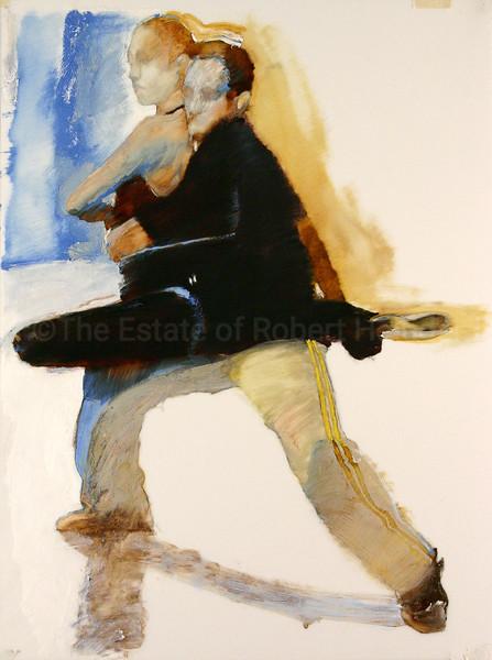 Pas de Deux - Yellow & Blue (2004)