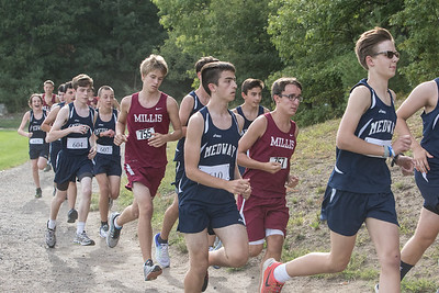 Medway HS XC, Fall 2016