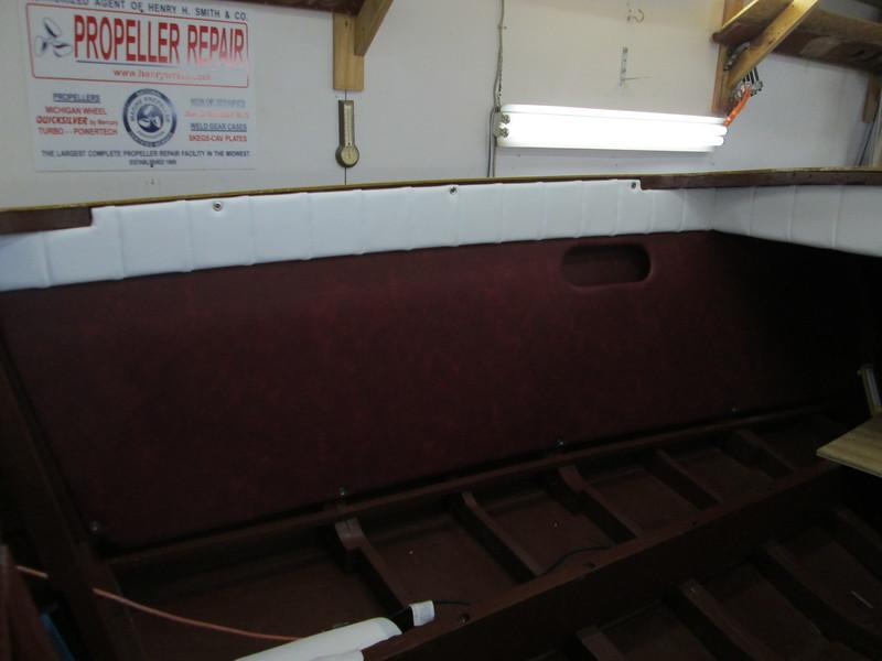 Port side cockpit liner installed.