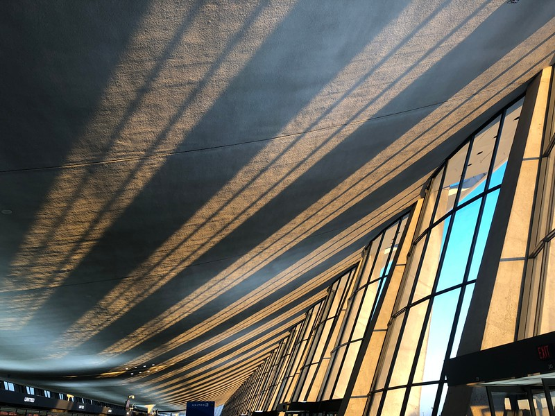 Dulles Airport in early morning light