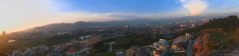 Panoramic View from Secret Hill