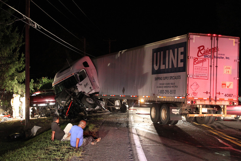 3 Vehicle Fatal Accident, SR309, West Penn, 8-24-2011 (1).JPG