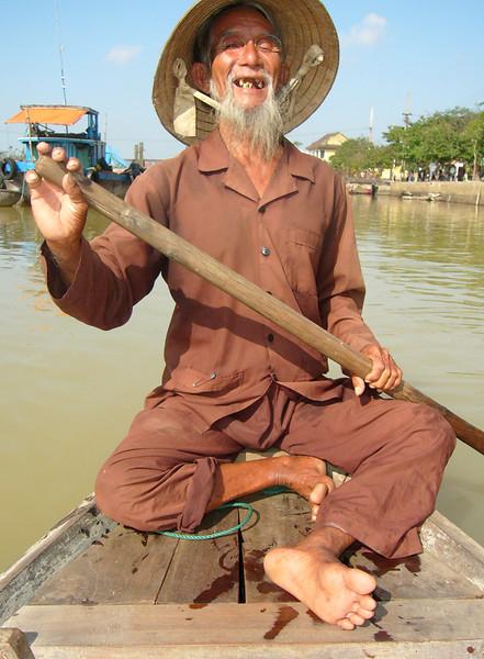 A master paddler