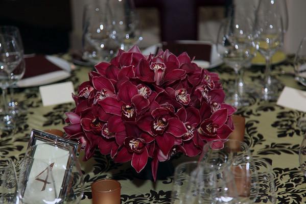 March 21, 2010 - Hite Flowers  at Daniel Restaurant