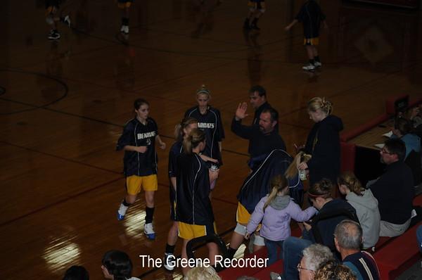 Basketball Girls at Newman