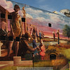 5-17-11    A building that beautifies downtown Omaha, NE.  This is only half of the mural.