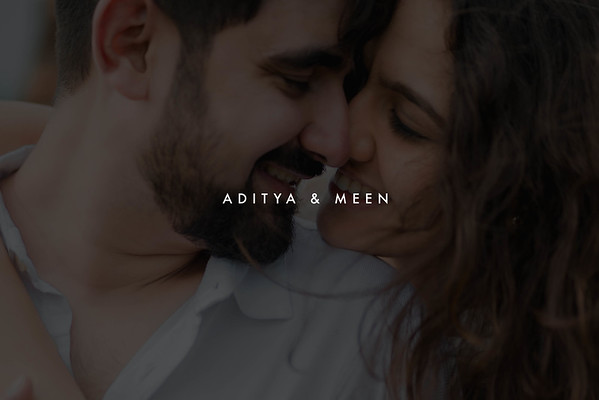 Aditya & Meen | July 2020