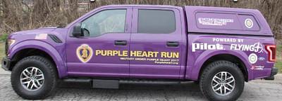 Purple Heart Truck Run - 08/11/2017