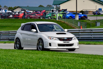 2020 SCCA TNiA Pitt Race Sept 30 Nov White Subi STi