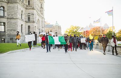 #EndSARS Protest - Victoria City Hall | Victoria, BC.