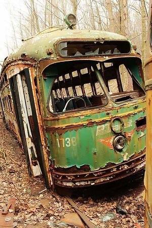 Abandoned Trains 🚈🚆
