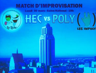 Impro HEC - 30 mars 2015
