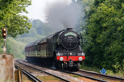 Flying Scotsman Through Virginia Water