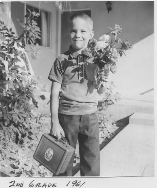 David, 2nd grade 1961