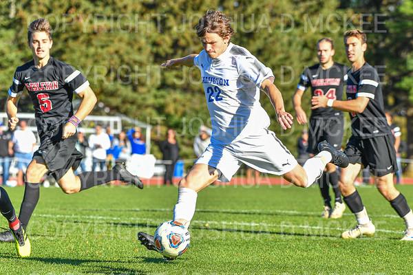 Hamilton Men's Soccer v Wesleyan 10-19-19