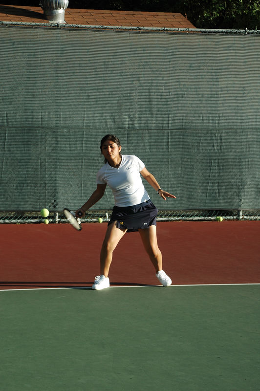 Menlo Girls Tennis 2005 - Player 3