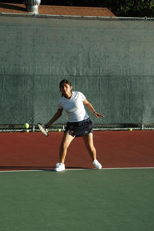 Menlo Girls Tennis 2005 - Player 3