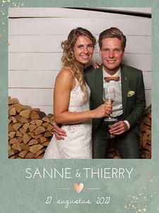 Bruiloft Thierry en Sanne
