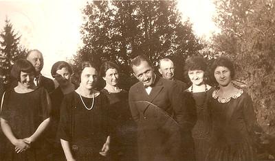 Hans Olson Josvanger family photos