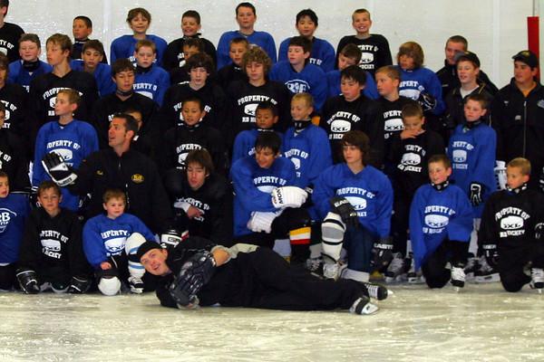 RB Hockey Camp Boys August 21, 2007