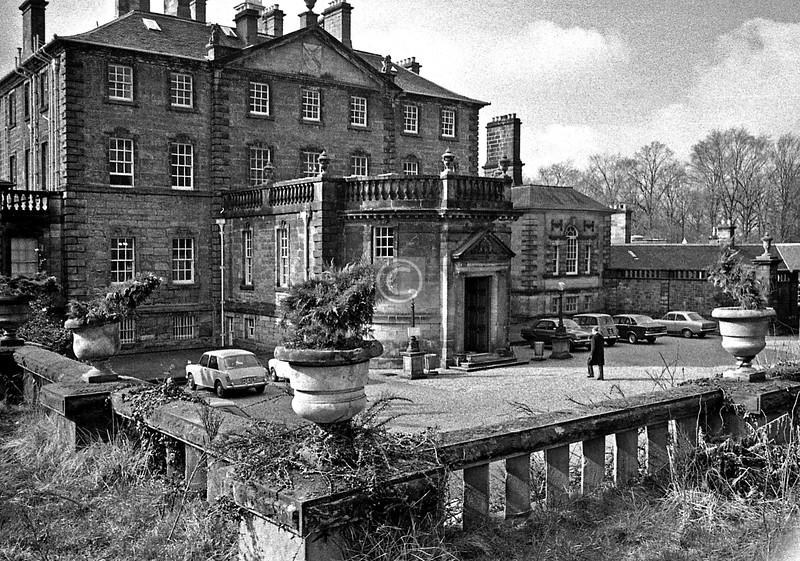 Pollok House.   February 1977