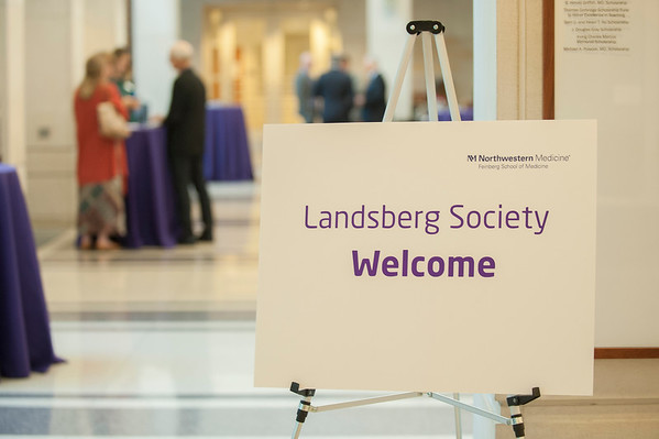 The Lewis Landsberg Society, 2017 Weekend Update, Welcome Reception, September 15, 2017