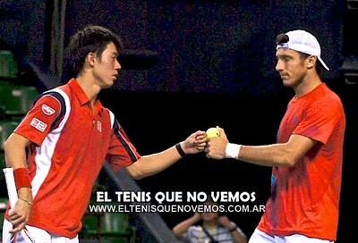 Monaco/Nishikori (Tokyo 2012, doubles)
