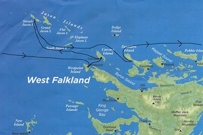 Westpoint and Carcass Islands, Falkland
