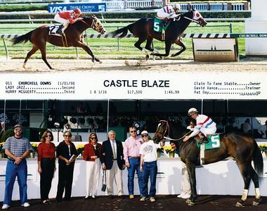 CASTLE BLAZE - 11/01/1998