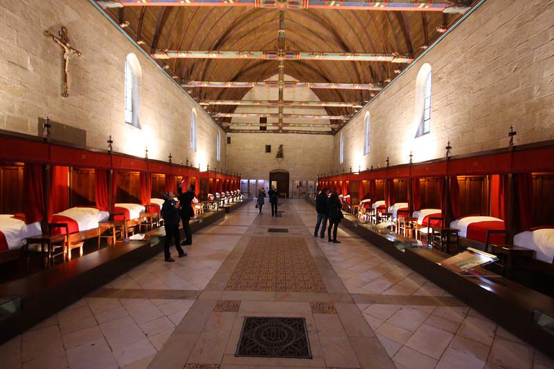 Hôtel-Dieu de Beaune - Hospital for the poor, built 1443