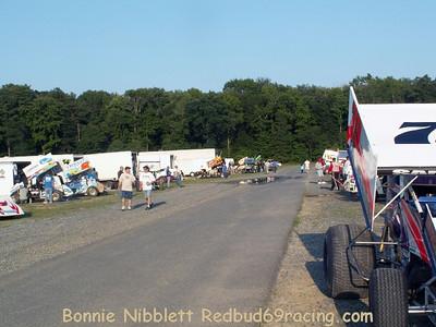 August 1, 2009 Redbud's Pit Shots Delaware International Speedway