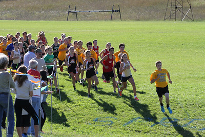 Kingsley XC Invite Start Middle School