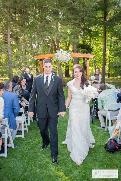 Ceremony & Reception at Stevens Estate: Sarah & Dan Part II