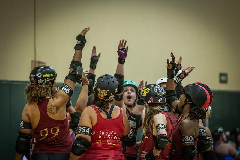 Orlando Roller Derby Hellcats vs. Snowbirds Aug 2019