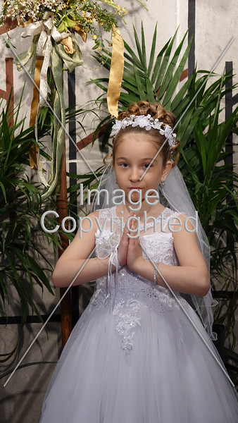 Katerina's 1st Communion