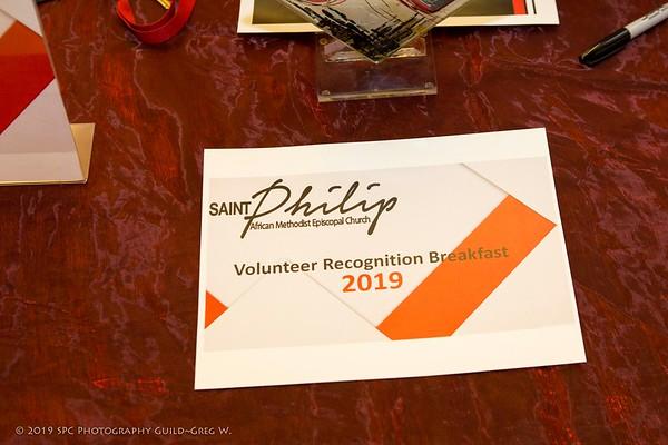 Volunteer Recognition Breakfast