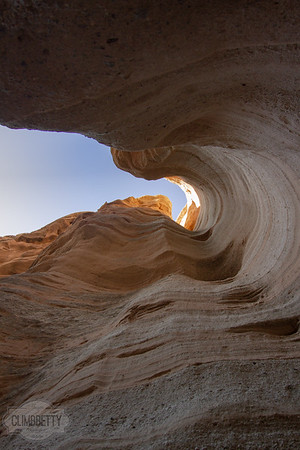 Tent Rocks Slot Canyon - New Mexico