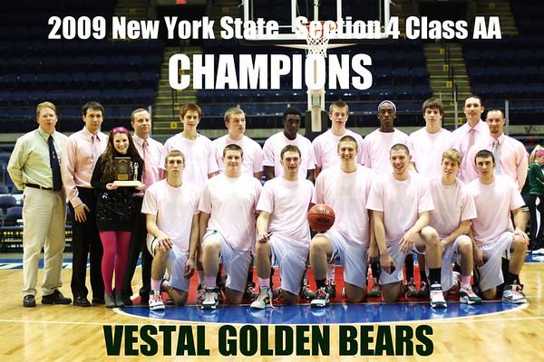 2009 Section 4 Class AA championship game Vestal vs Binghamton