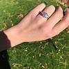 2.50ctw Emerald Cut Diamond 3-stone Ring, GIA E VS1 1