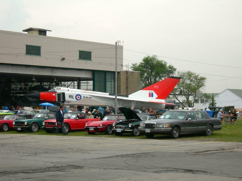 CF-105 Arrow Replica