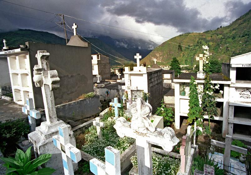 Banos Cemetery, Ecuador